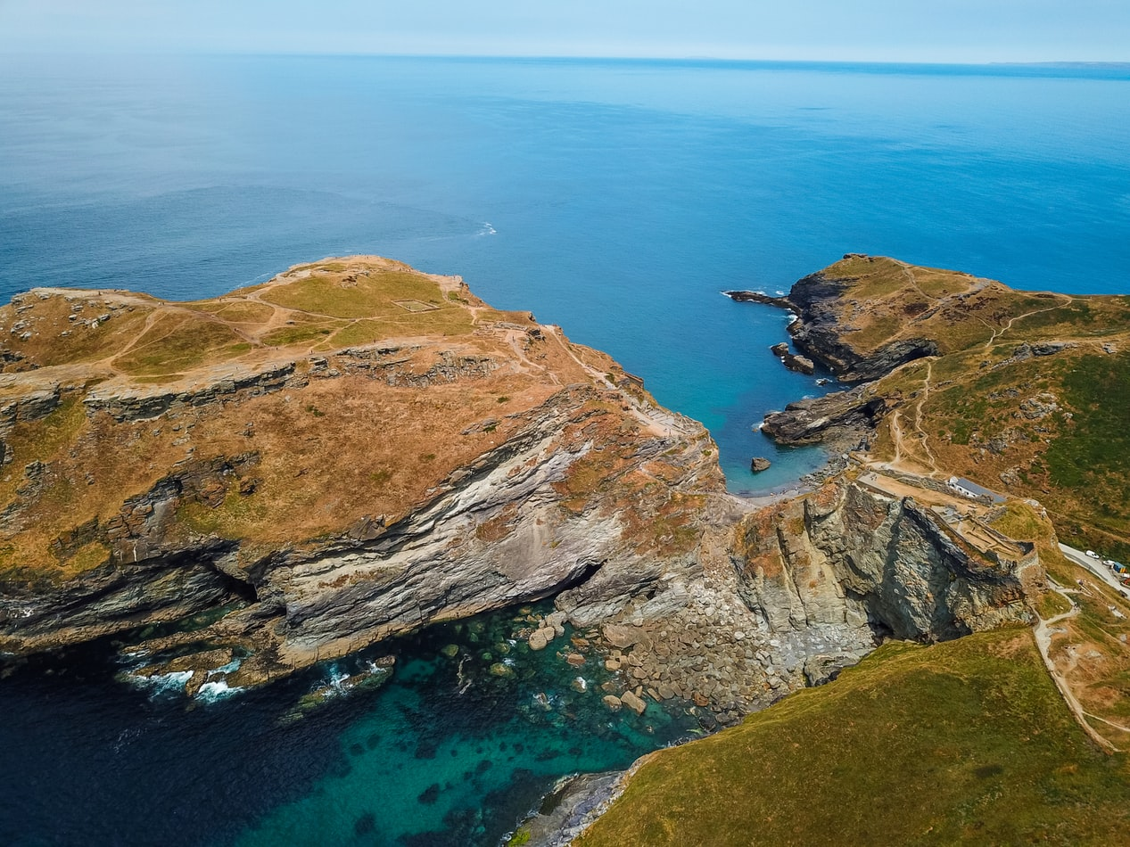 the coast of england, cornwall views, dream destinations to visit next in europe