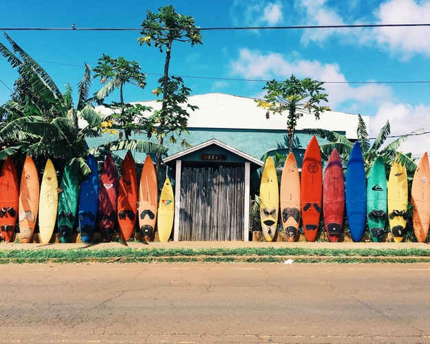 surfing and surfboards