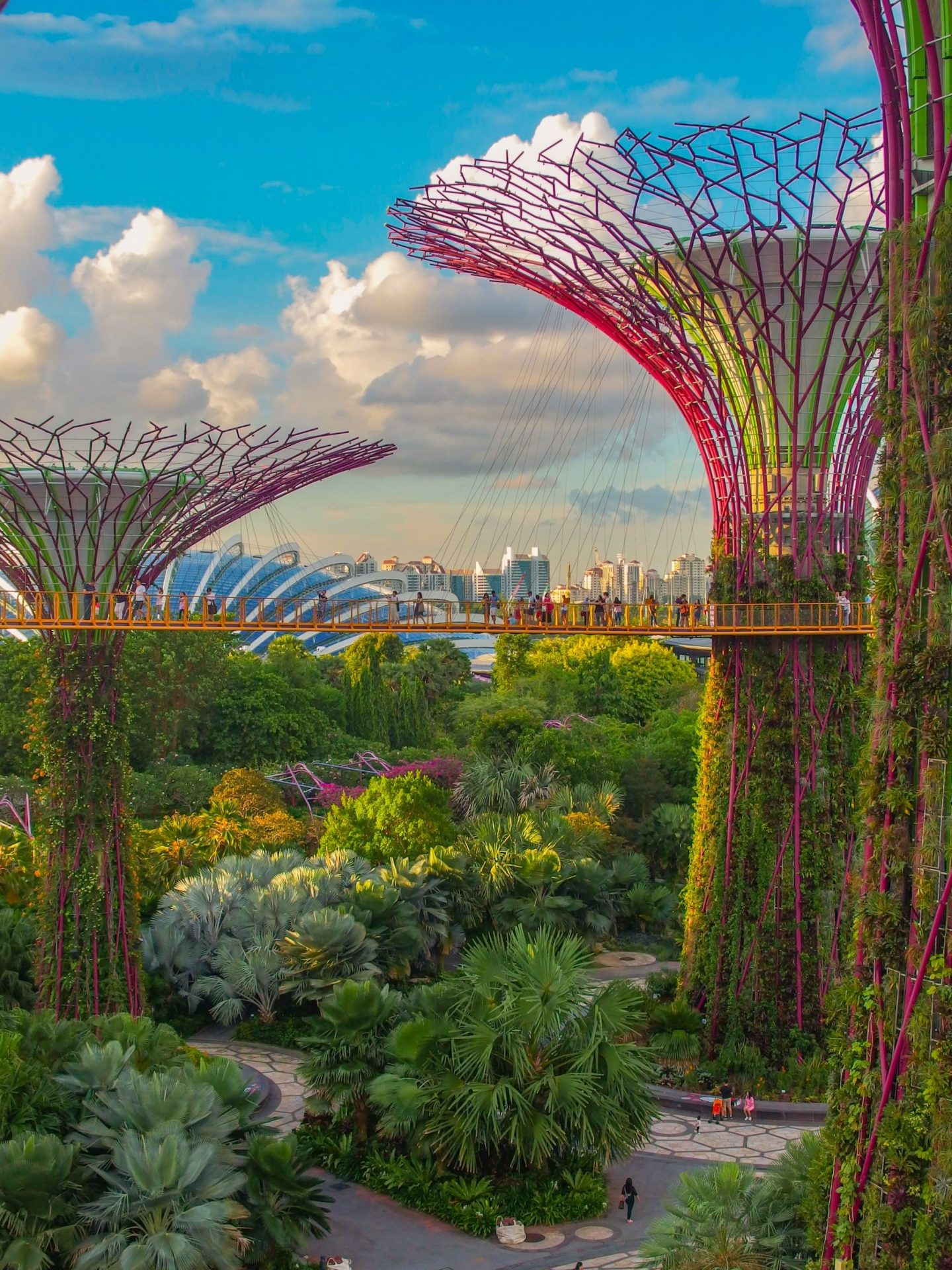 Singapore, gardens by the bay, travel, wanderlust, traveling, city, nature, travel blogger, highlights, view