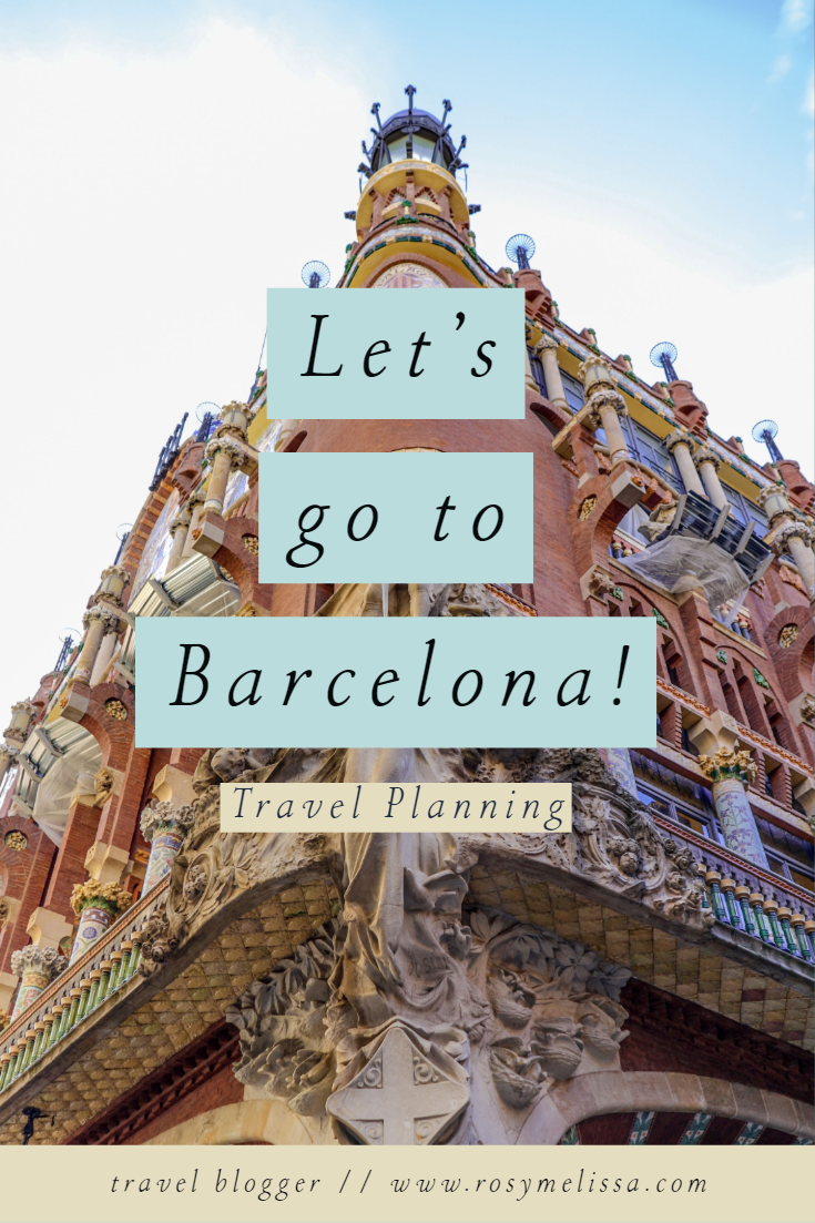 let's go to barcelona, city trip, barcelona, trip, travel