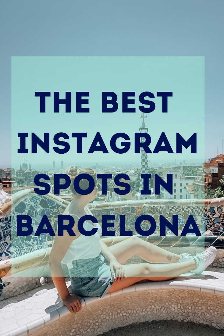 the best instagram spots in barcelona, city, trip, travel, instagram, photography, where to take pictures