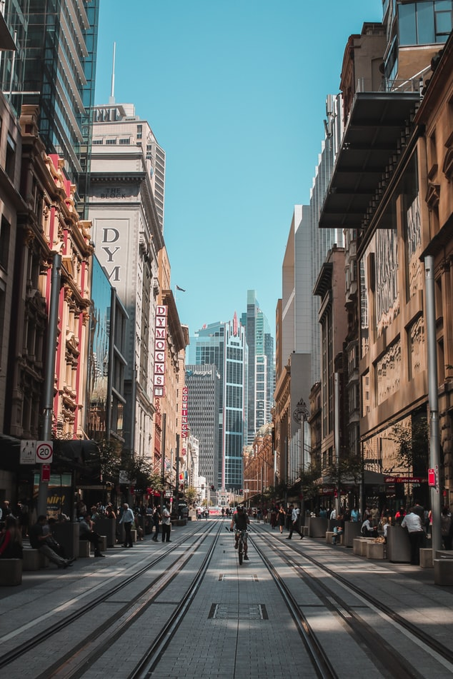 the streets in sydney in australia, backpacking in australia, 20 trips to take in your twenties