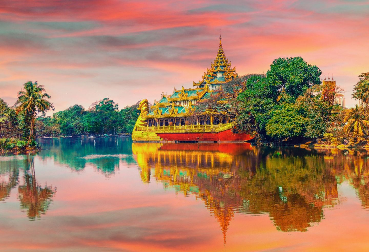 thailand, sunset in thailand, full moon party, travel inspiration