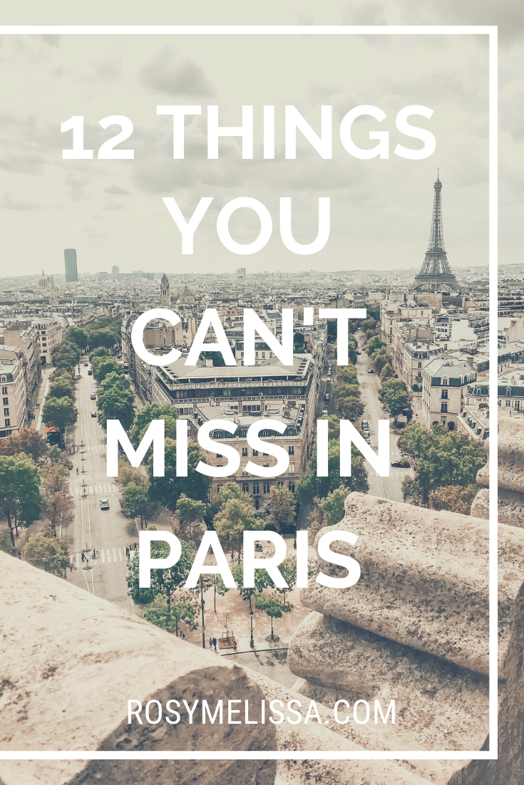 12 amazing things to do in Paris, where to go in Paris, what are the must-see's, what to do in Paris, tips, city guide, travel guide, France