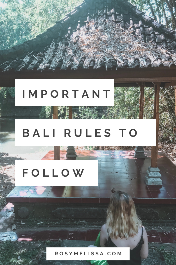 legal rules, non-legal rules, best ways to travel, responsible travel, indonesia, important bali rules to follow