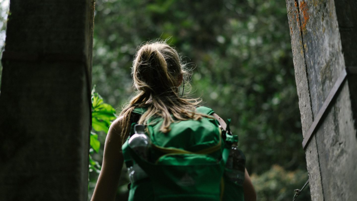 girl with backpack, responsible travel, traveling, wanderlust, sustainable travel, travel guide, travel advice, tips, inspiration, green travel