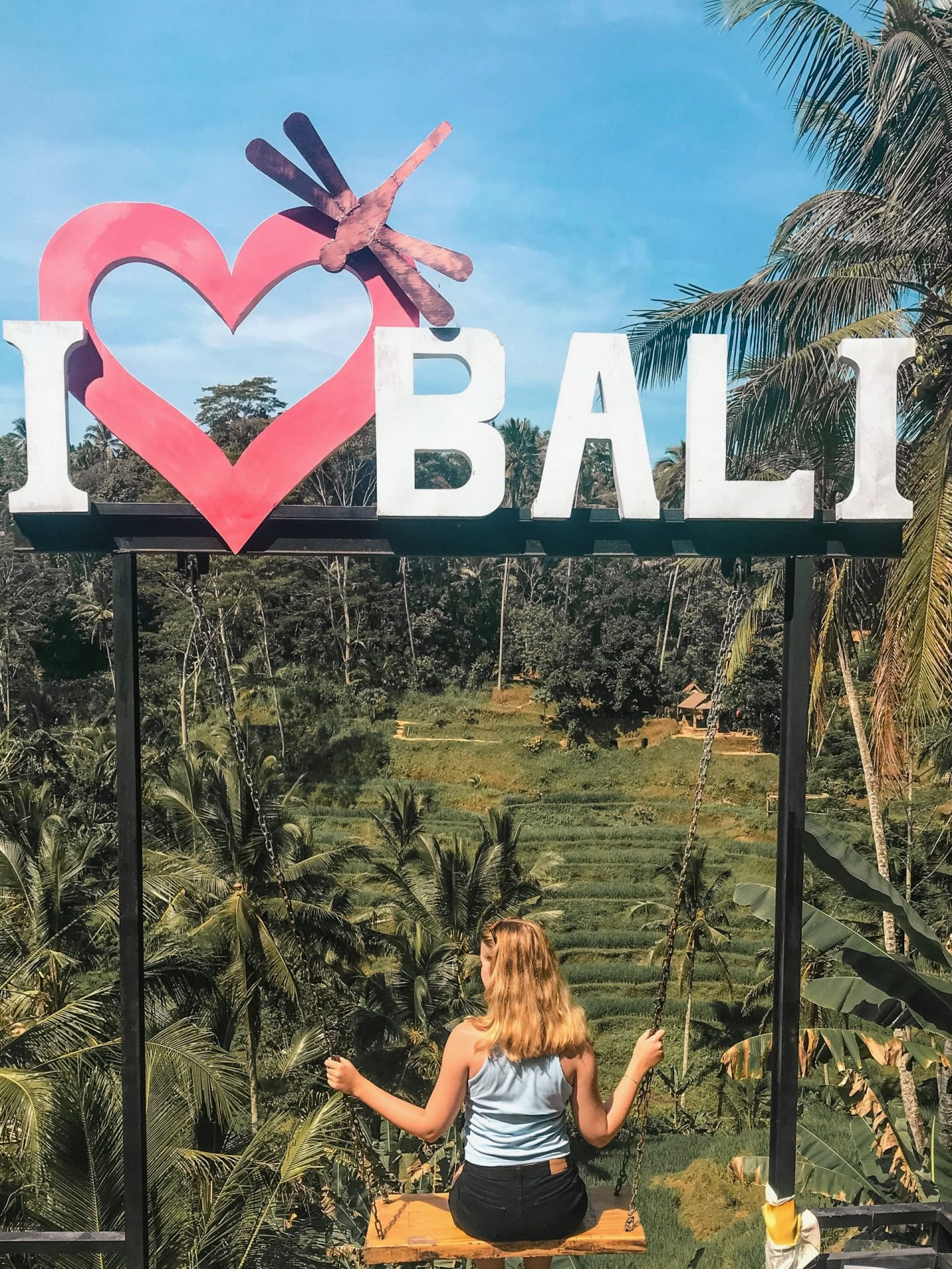 tegallalang rice terrace in central ubud, rice terraces in bali, the most instagrammable places in bali, photography guide, where to take the best pictures in bali, indonesia, bali swing