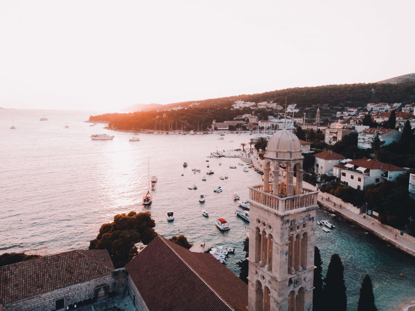croatia in the balkens is full of history and amazing architecture to visit on romantic trips and romantic get-aways, visit dubrovnik and split or ljublana and budapest