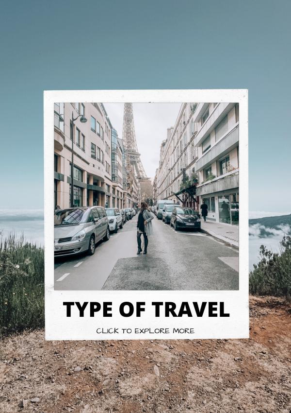 type of travel, responsible travel, budget travel, female travel