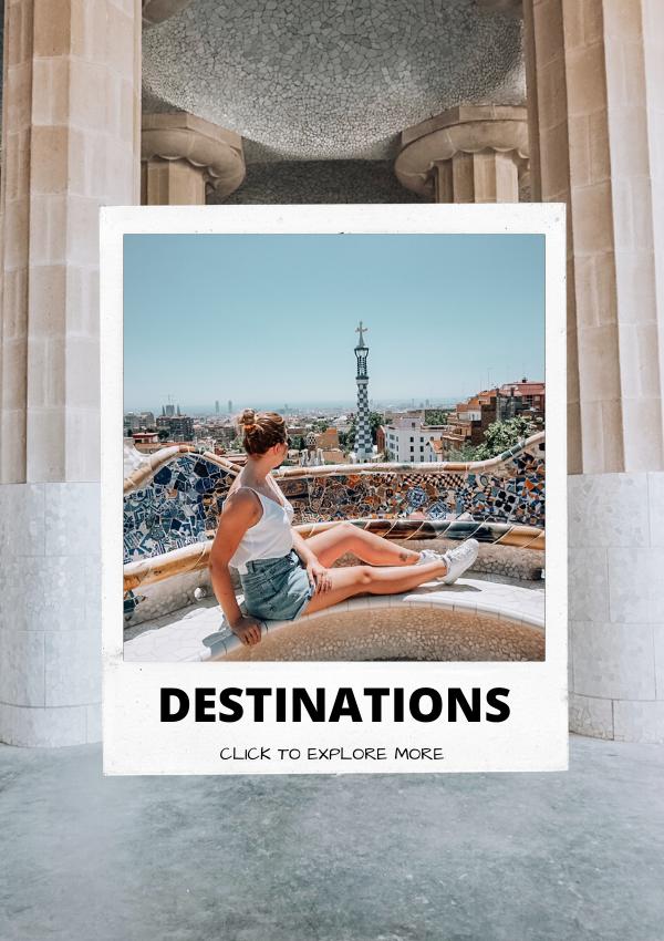 destinations page, barcelona, spain