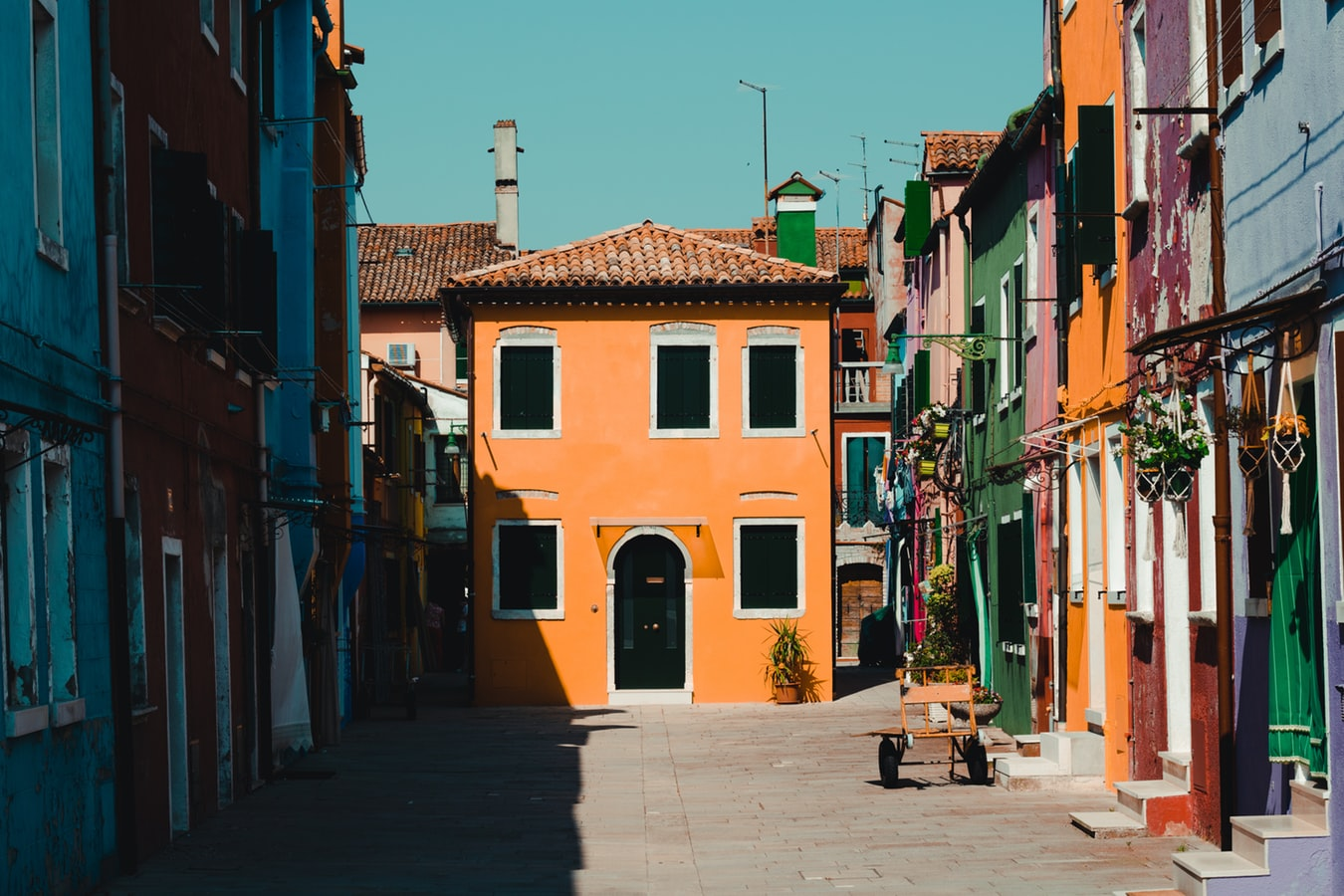 gorgeous colored houses in italy, fairy tale villages to visit next