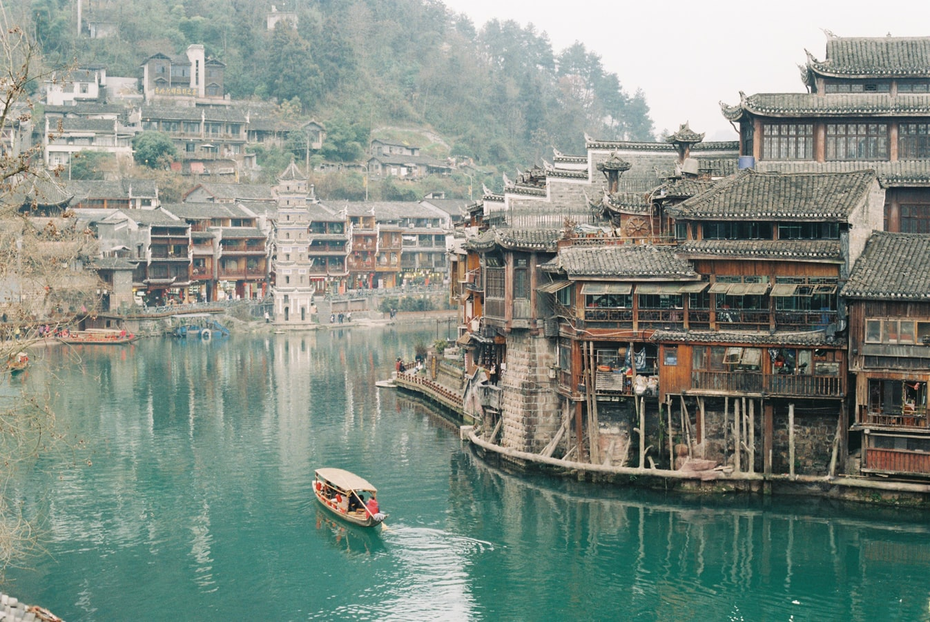 fenghuang in china, ancient town, fairy tale villages to visit world wide