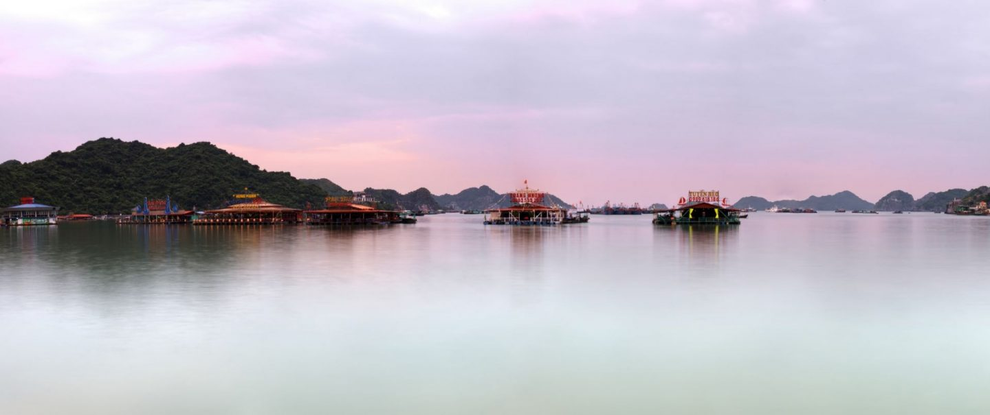 the floating village in vietnam, halong bay, cua van in vietnam, fairy tale villages