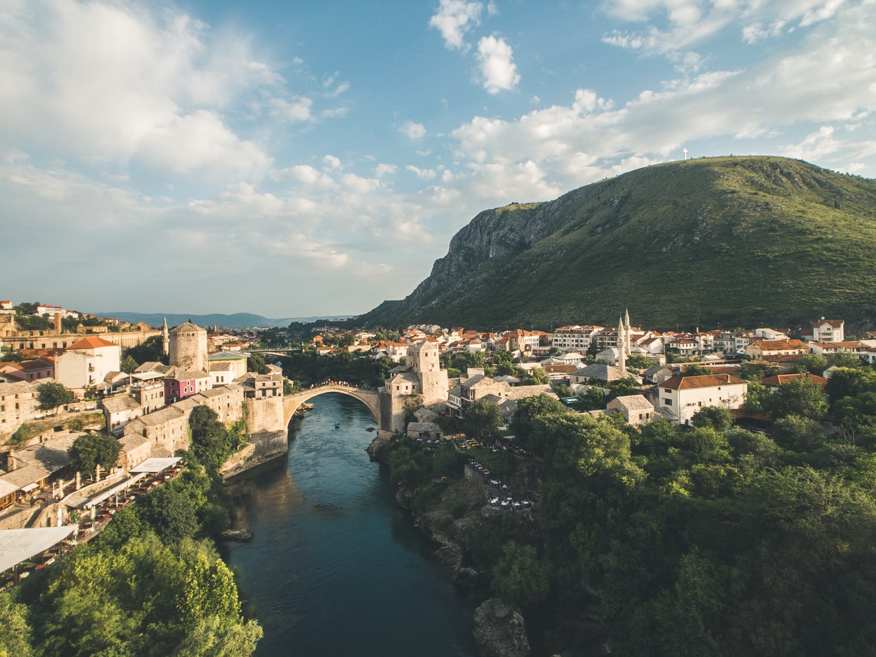 the city mostar in bosnia and herzegovina, fairy tale villages to visit worldwide
