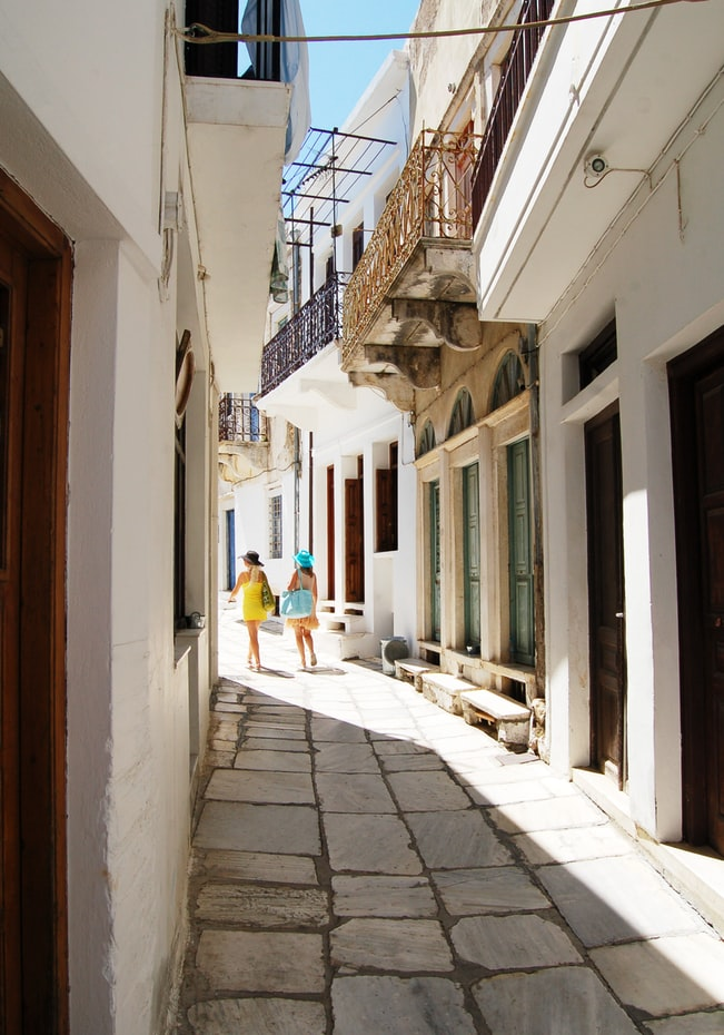 the old town in naxos to explore, 4 gorgeous islands in greece to visit next