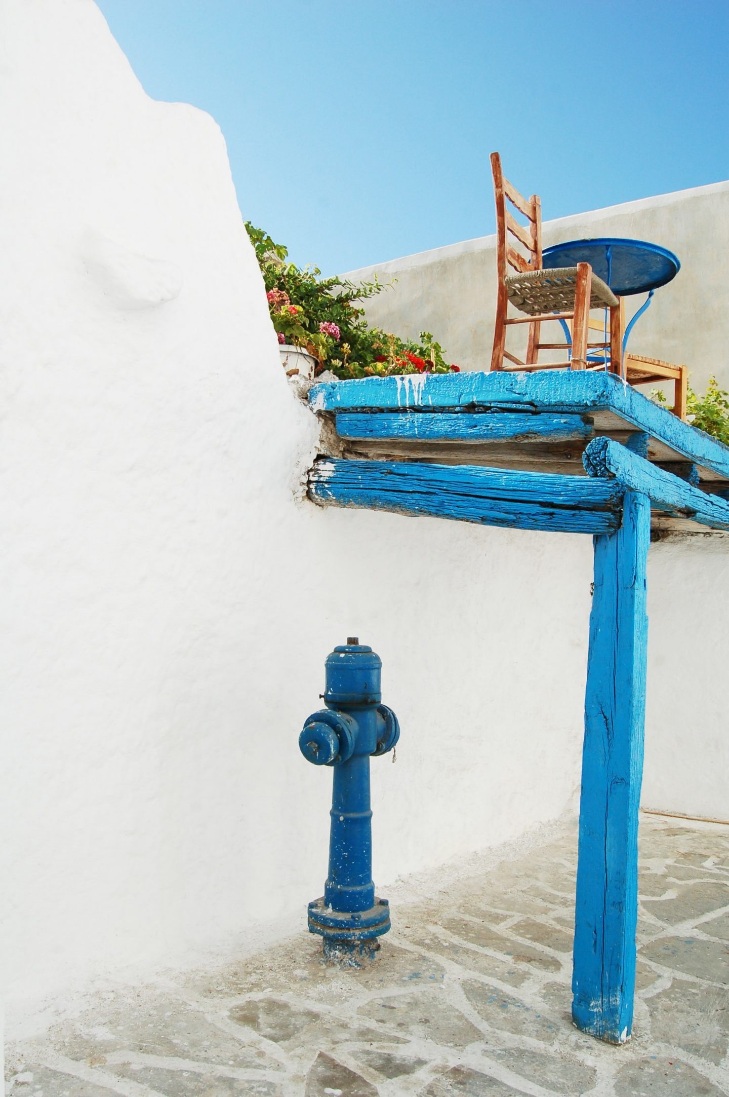 islands in greece to visit now, blue elements on naxos island, where to go in greece