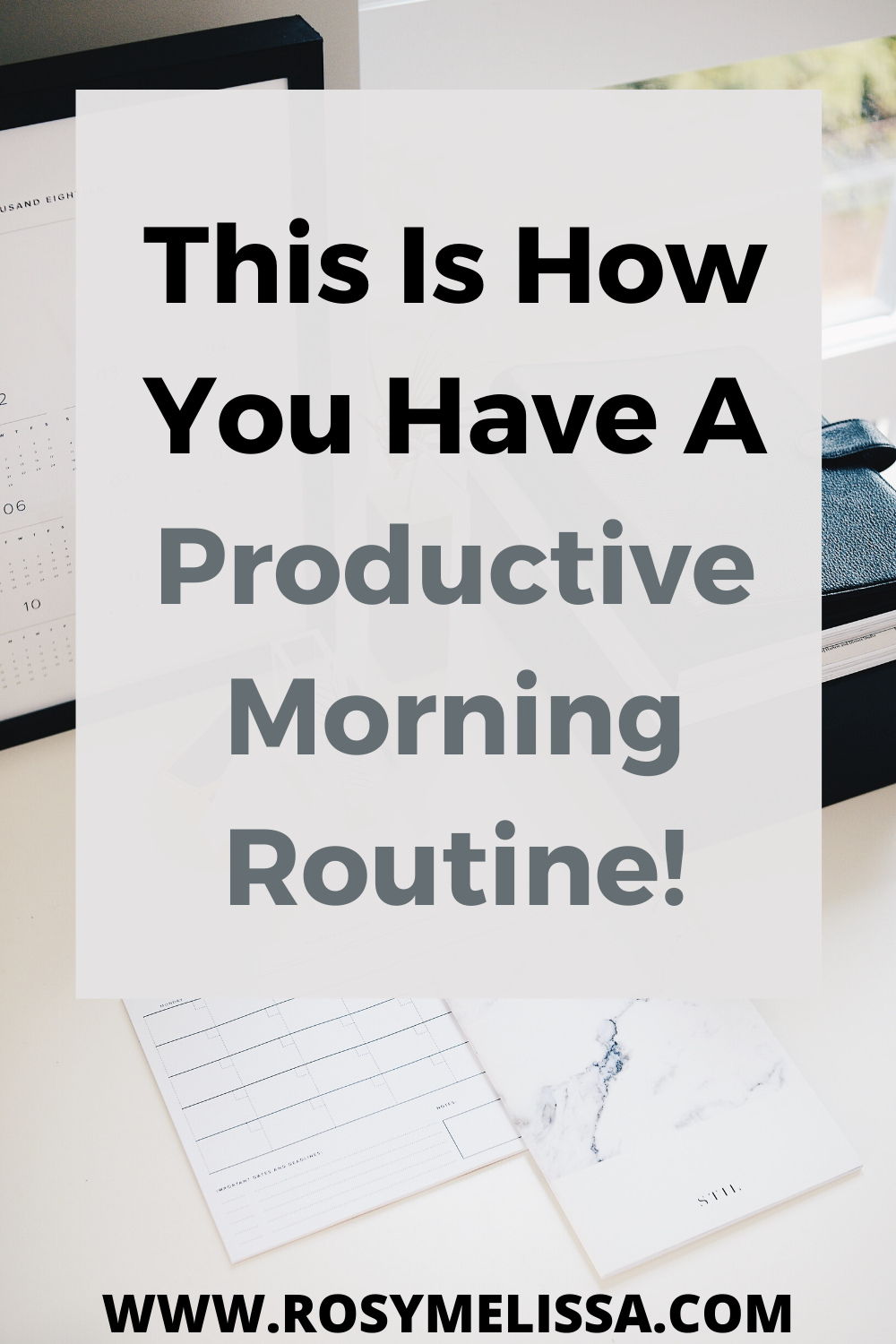 15 secrets to have a productive morning routine, productivity, mornings
