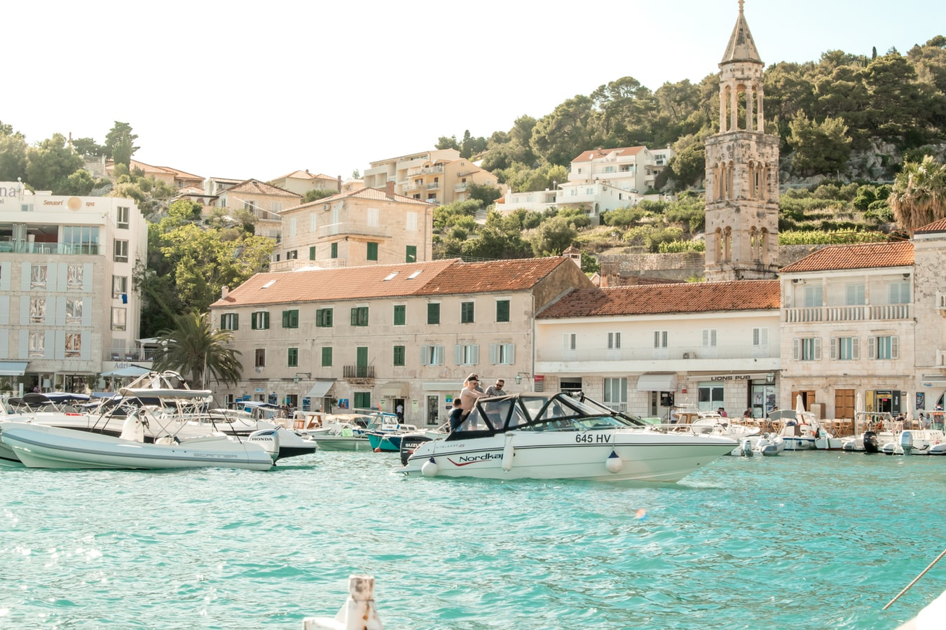 gorgeous ocean in croatia, budget travel in europe, cheapest countries in europe to visit