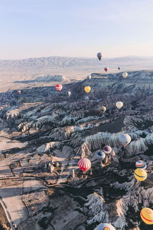 travel in turkey, cheap locations in turkey, air balloons in turkey