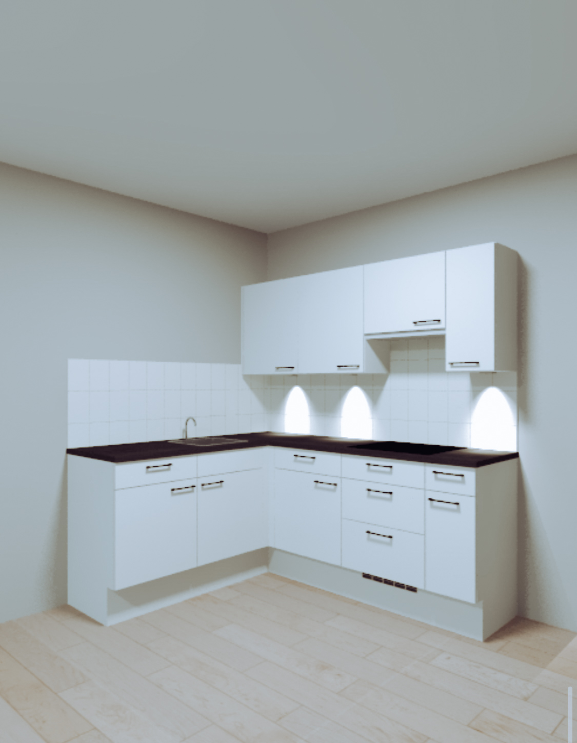 new kitchen design, building a house, apartment