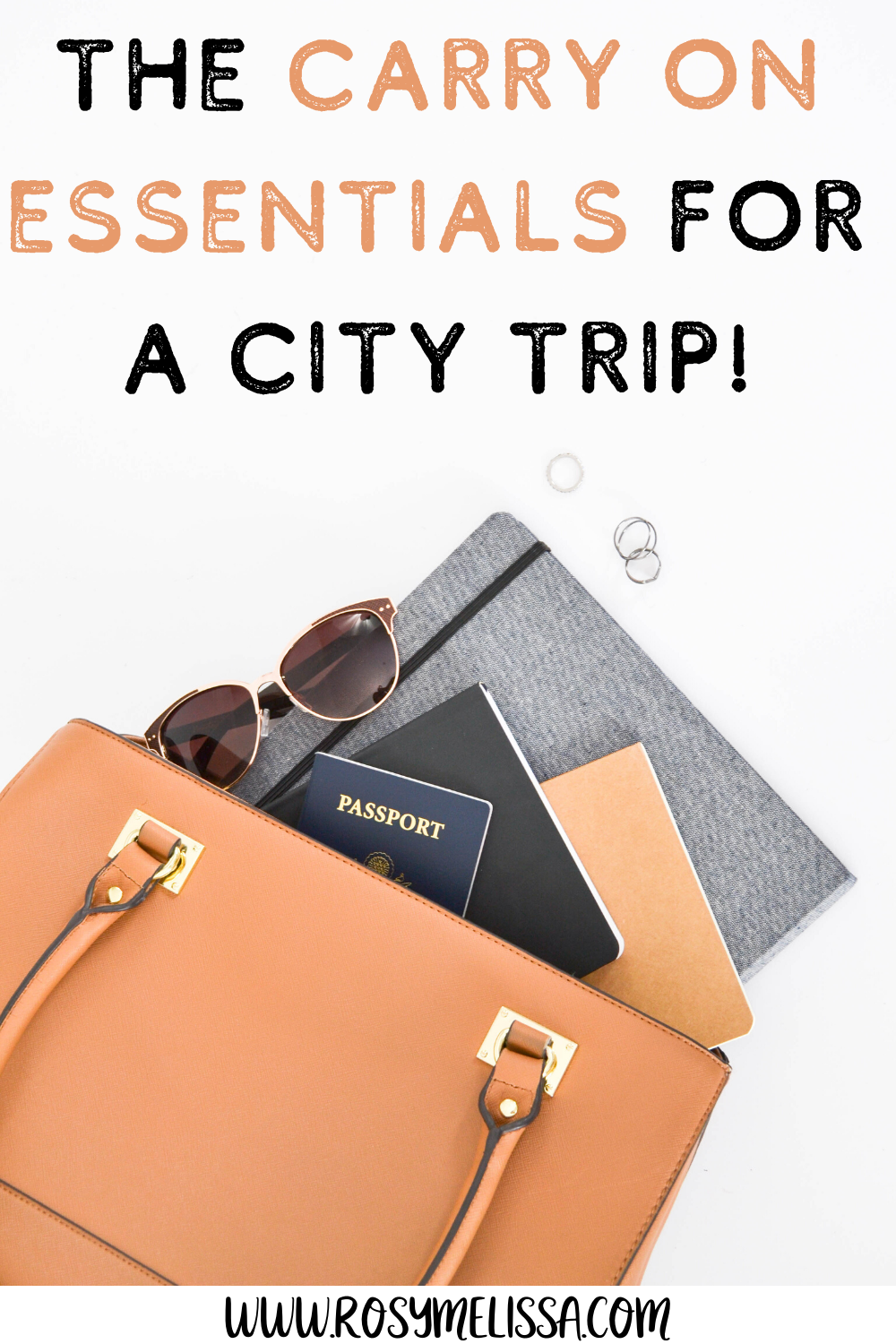 the ultimate city trip carry on essentials, carry on bag, travel tips