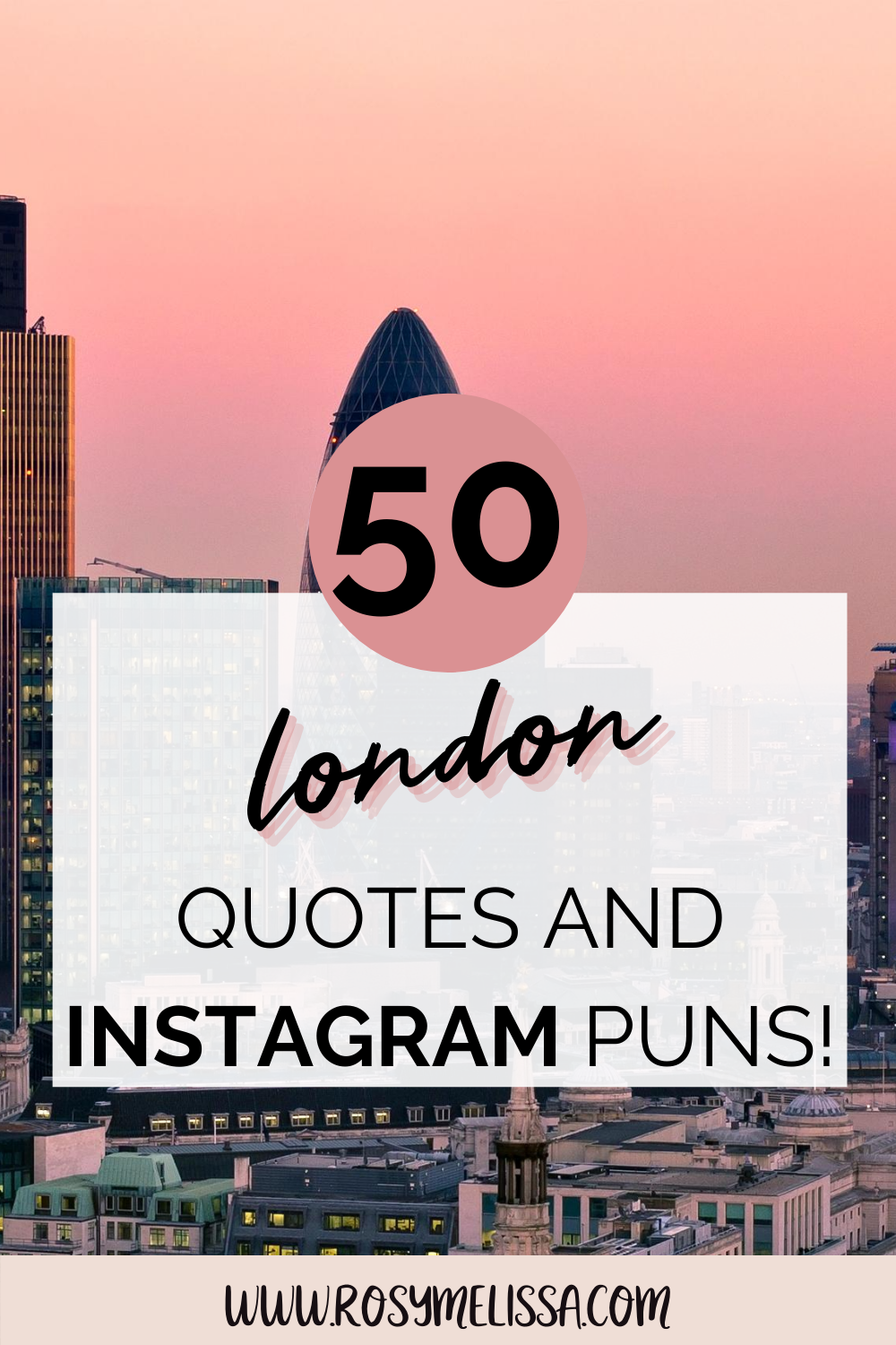 the perfect london quotes, london instagram captions, london puns, instagram inspiration