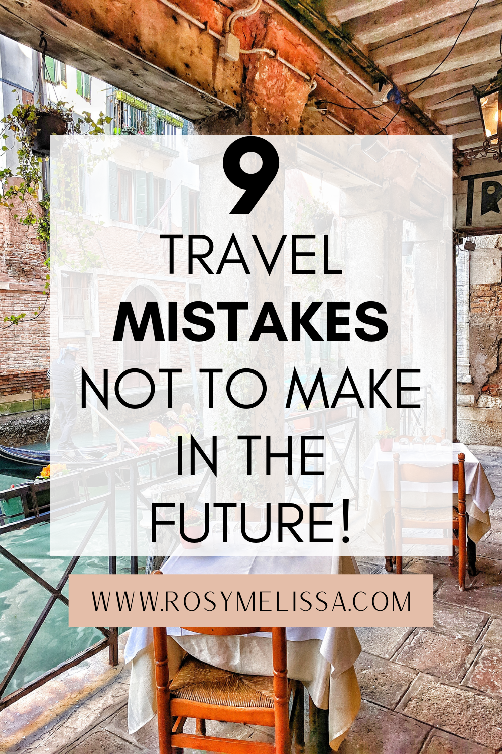 travel mistakes to avoid making, travel tips, travel mistakes not to make