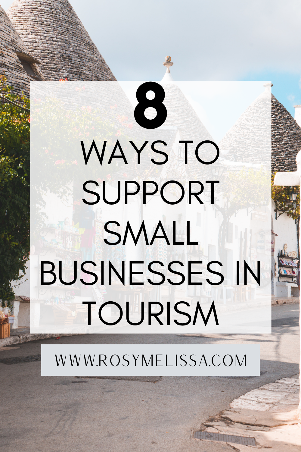 how to support small businesses in tourism, local businesses in travel, travel industry