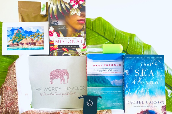 subscription box, travel, books, the wordy traveller