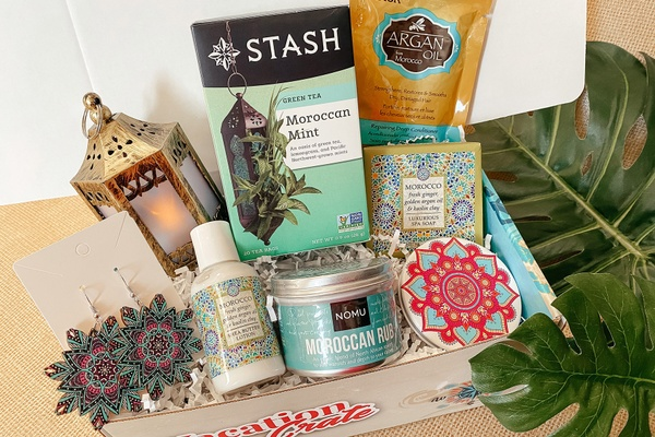 the vacation crate box, travel subscription box