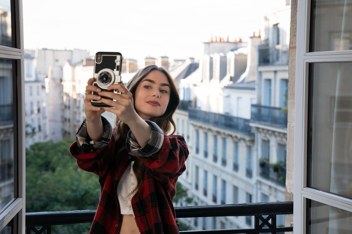 emily in paris, netflix show, netflix series, view from her apartment in paris