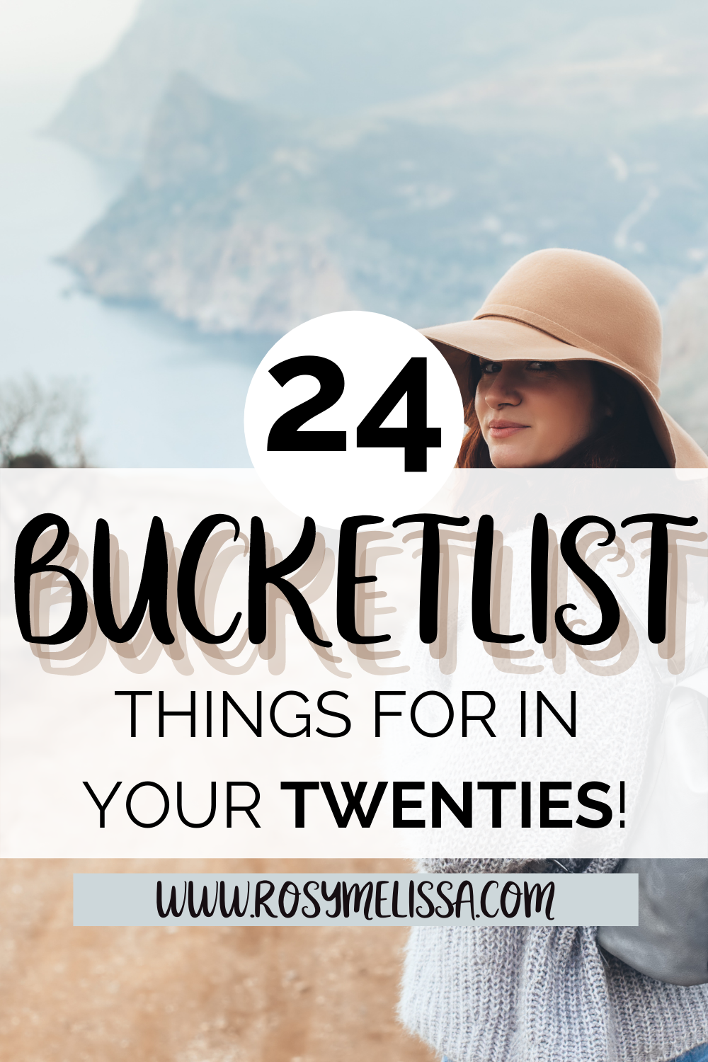 Perfect 20s Bucket List 24 Things To Do At 24 Rosy Melissa