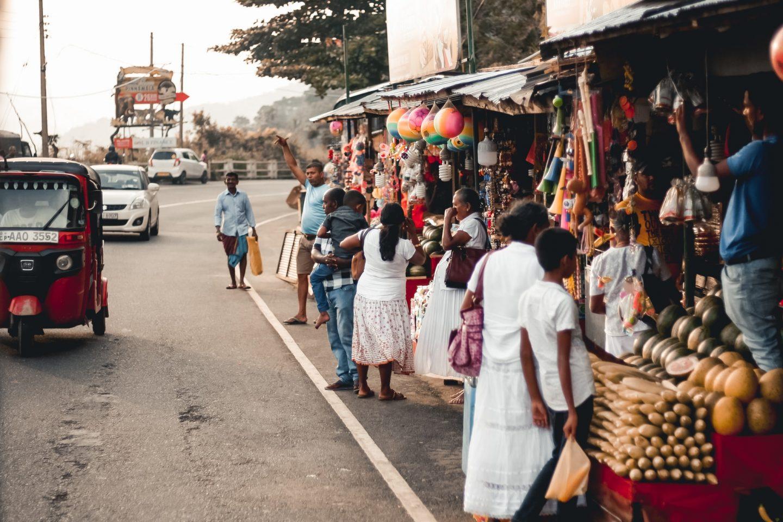 women on a local market in sierra leona, local culture, community