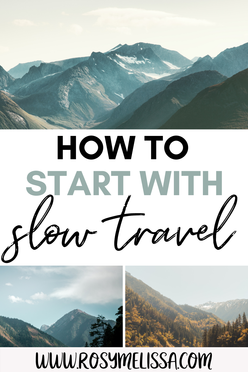 advice and tips on how to start with slow travelling, slow travel tips