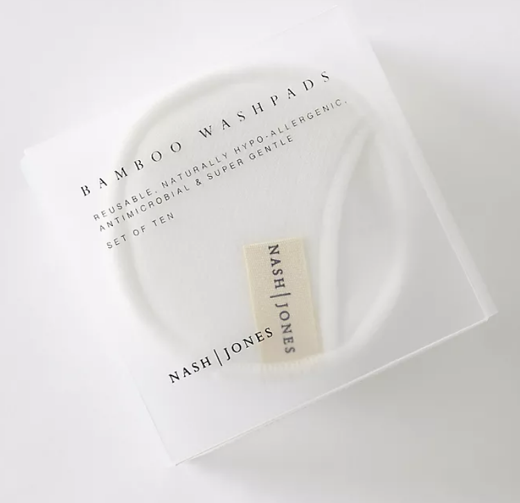 cotton and bamboo washable make up pads