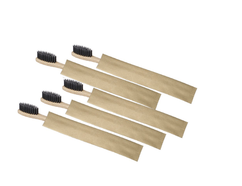 a bamboo tooth brush set, sustainable tooth brush, eco-friendly gift ideas