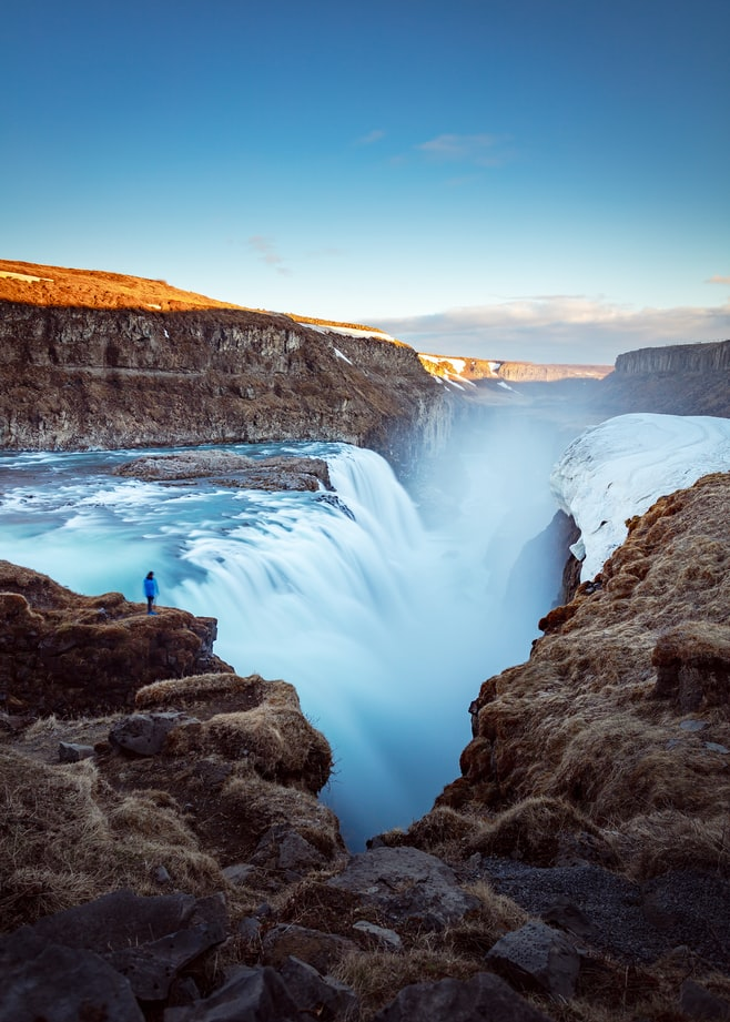 waterfalls in iceland, raw nature in iceland, iceland travel