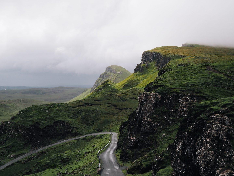 ireland travel, travel in ireland, nature in ireland, mountains and fog