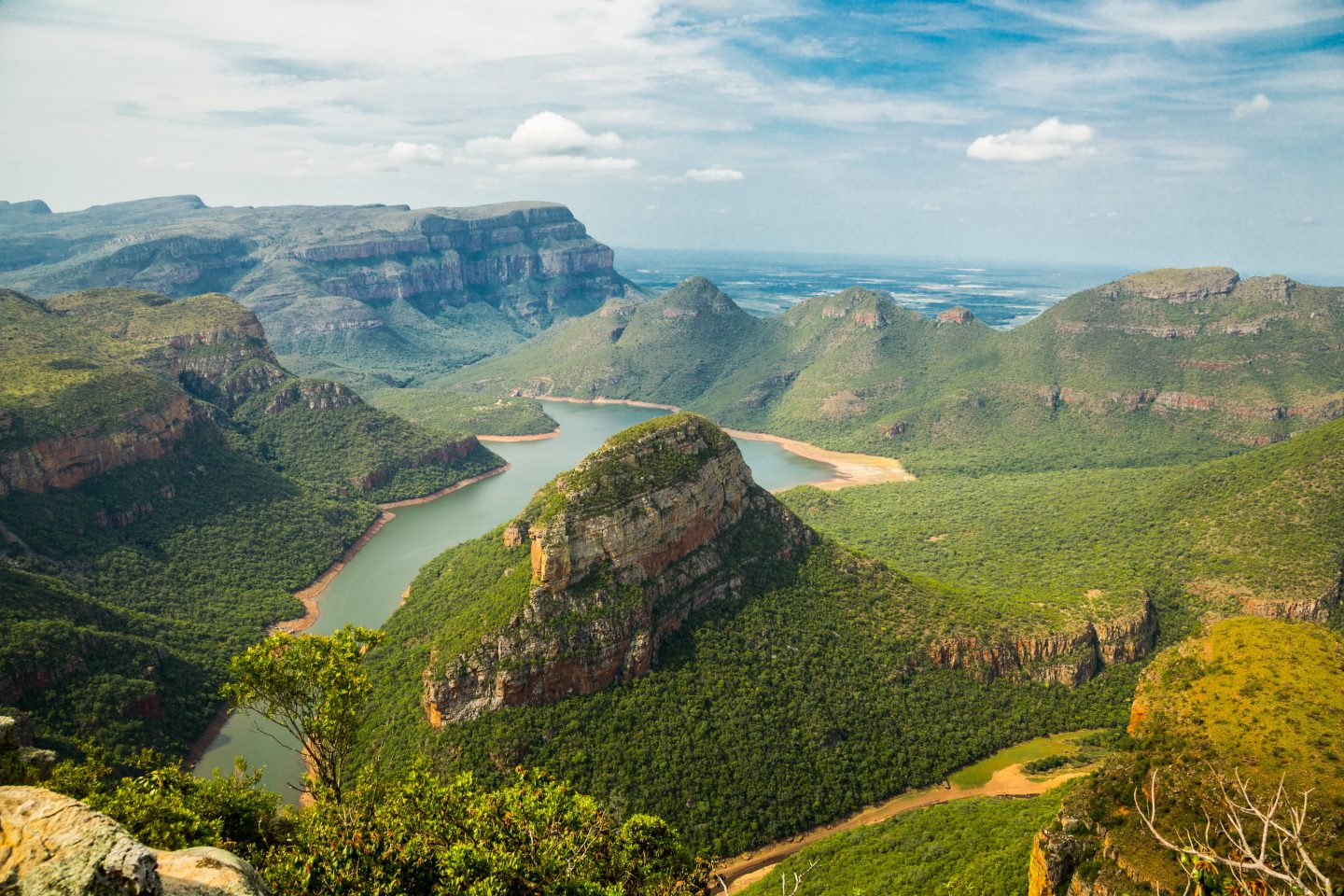 south africa nature, view over landscape, scenic views