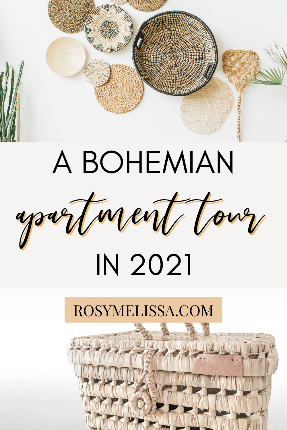a bohemian apartment tour in 2021, home decoration inspiration