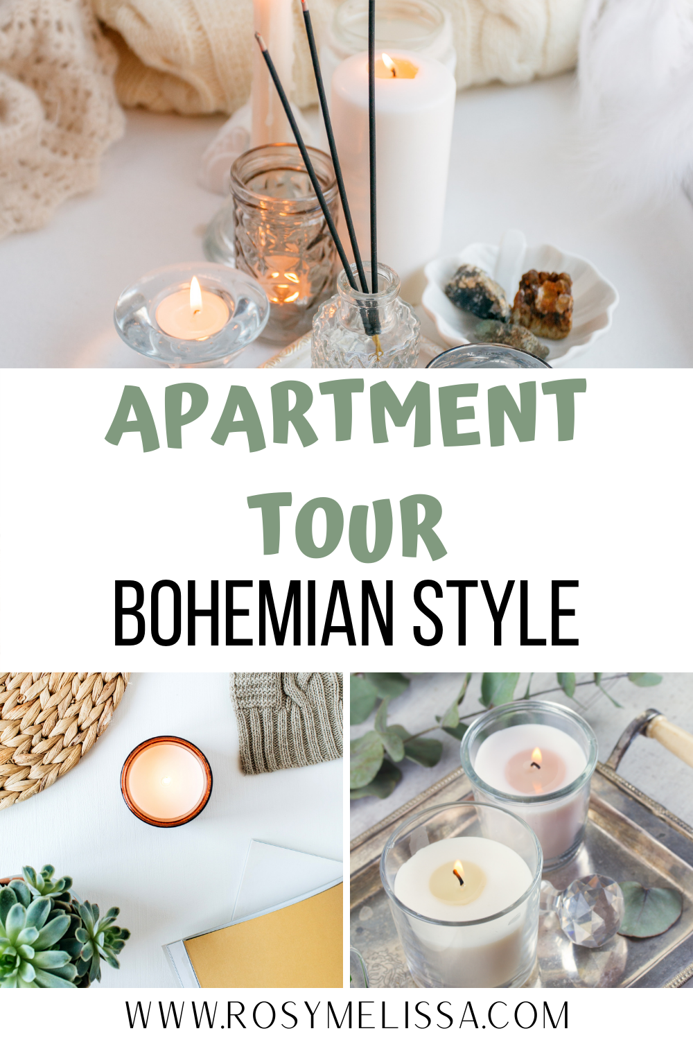 apartment tour in bohemian style, home decor, inspiration