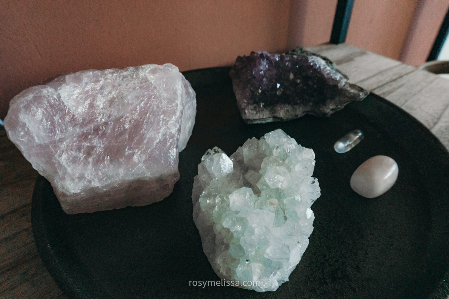 crystal collection, rock collection, natural energy