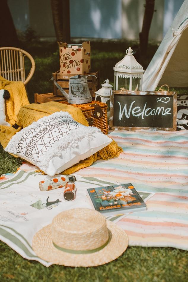 picnic inspiration for the backyard